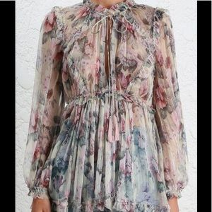 Zimmermann Jasper Silk Top